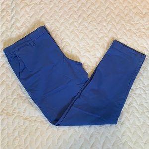 NWOT GAP - Blue Straight Leg Khaki Pants - Sz 10